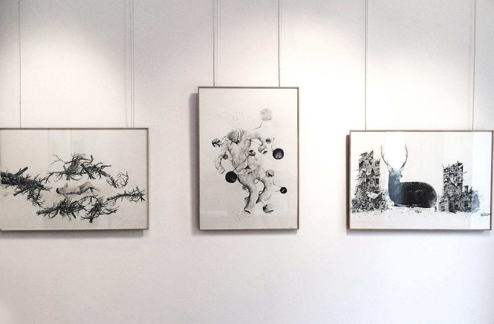 LA RUEE VERS L'HEURE / exposition à La Douëra